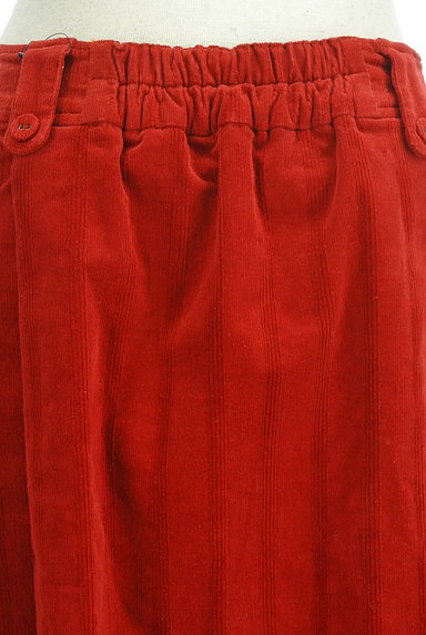 Jocomomola(ホコモモラ)の古着「ミモレ丈コーデュロイフレアスカート(スカート)」大画像5へ