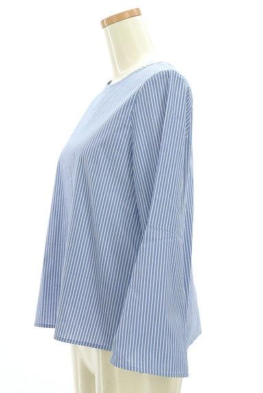 UNITED ARROWS(ユナイテッドアローズ)の古着「ベルスリーブストライプ柄カットソー(カットソー・プルオーバー)」大画像3へ