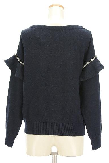 COLLAGE GALLARDAGALANTE(コラージュ ガリャルダガランテ)の古着「袖フリルニット(ニット)」大画像2へ
