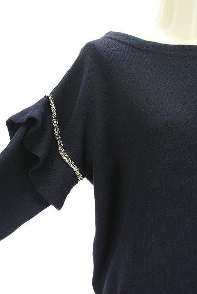 COLLAGE GALLARDAGALANTE(コラージュ ガリャルダガランテ)の古着「袖フリルニット(ニット)」大画像4へ