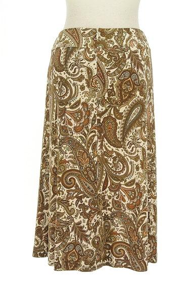 SCAPA(スキャパ)の古着「フロントタックペイズリー柄スカート(スカート)」大画像2へ