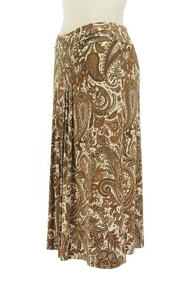 SCAPA(スキャパ)の古着「フロントタックペイズリー柄スカート(スカート)」大画像3へ