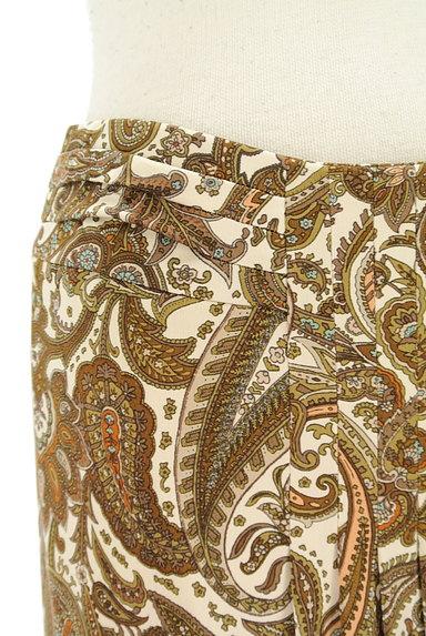 SCAPA(スキャパ)の古着「フロントタックペイズリー柄スカート(スカート)」大画像4へ