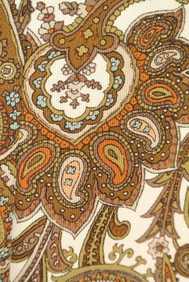 SCAPA(スキャパ)の古着「フロントタックペイズリー柄スカート(スカート)」大画像5へ