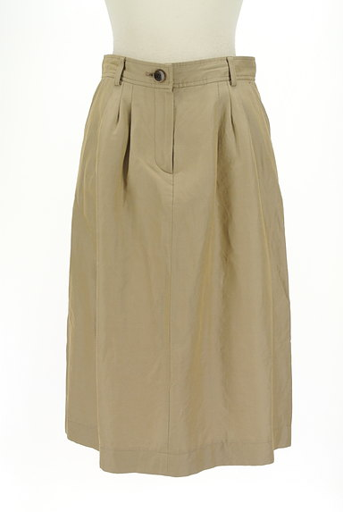 SCAPA(スキャパ)の古着「膝下丈微光沢スカート(ロングスカート・マキシスカート)」大画像1へ