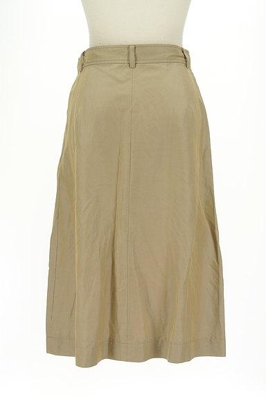 SCAPA(スキャパ)の古着「膝下丈微光沢スカート(ロングスカート・マキシスカート)」大画像2へ