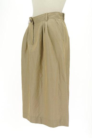 SCAPA(スキャパ)の古着「膝下丈微光沢スカート(ロングスカート・マキシスカート)」大画像3へ