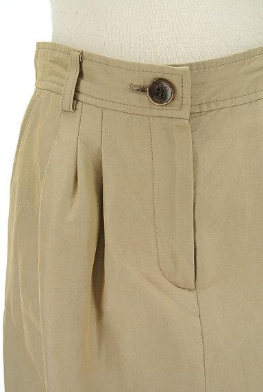 SCAPA(スキャパ)の古着「膝下丈微光沢スカート(ロングスカート・マキシスカート)」大画像4へ