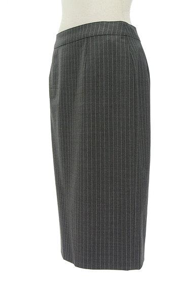Paul Stuart(ポールスチュアート)の古着「ピンストライプ柄膝下丈スカート(スカート)」大画像3へ