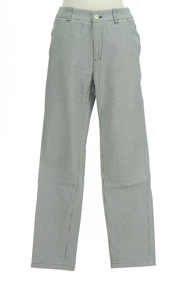 Paul Stuart(ポールスチュアート)の古着「千鳥格子柄ストレートパンツ(パンツ)」大画像1へ
