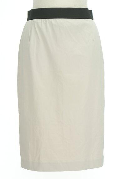 MOGA(モガ)の古着「バイカラー膝下丈タイトスカート(スカート)」大画像1へ