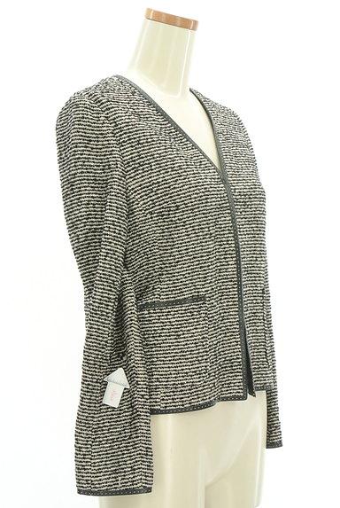 MOGA(モガ)の古着「ノーカラーパイピングジャケット(ジャケット)」大画像4へ