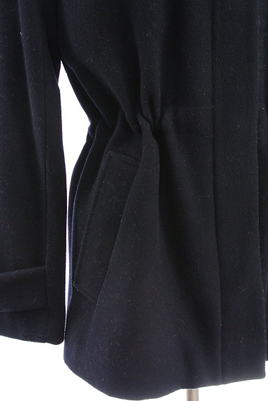 MOGA(モガ)の古着「ウエストドロストウールコート(コート)」大画像5へ