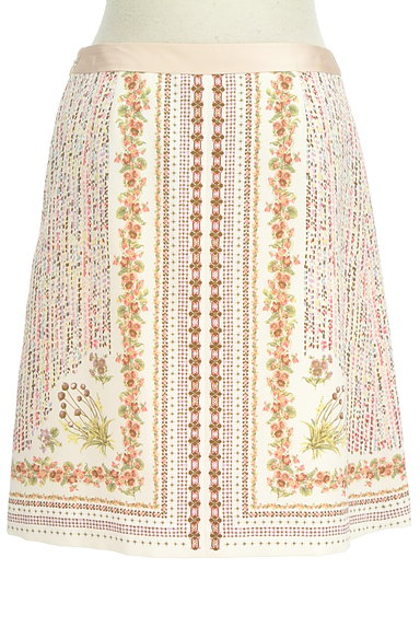 KUMIKYOKU(組曲)の古着「北欧デザインセミフレアスカート(ミニスカート)」大画像2へ