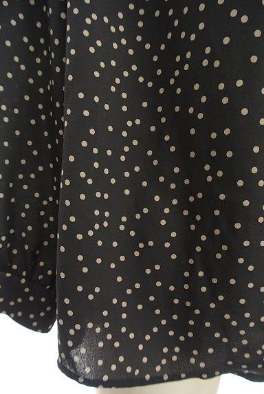 STRAWBERRY-FIELDS(ストロベリーフィールズ)の古着「ランダムドット柄ブラウス(カットソー・プルオーバー)」大画像5へ
