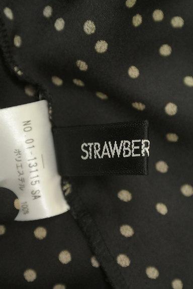 STRAWBERRY-FIELDS(ストロベリーフィールズ)の古着「ランダムドット柄ブラウス(カットソー・プルオーバー)」大画像6へ