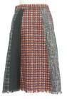 STRAWBERRY-FIELDS(ストロベリーフィールズ)の古着「スカート」後ろ