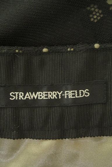 STRAWBERRY-FIELDS(ストロベリーフィールズ)の古着「シアーオリエンタル柄マキシスカート(ロングスカート・マキシスカート)」大画像6へ