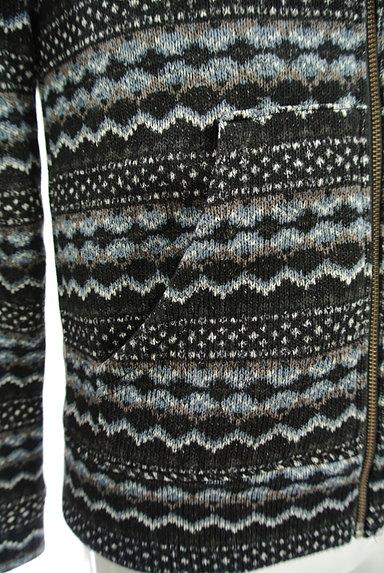 291295=HOMME(291295オム)の古着「ネイティブ柄ジップアップパーカー(カーディガン)」大画像5へ