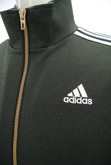 adidas(アディダス)の古着「ライン入りジップアップジャージ(ジャージトップス)」大画像4へ