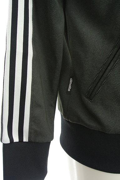 adidas(アディダス)の古着「ライン入りジップアップジャージ(ジャージトップス)」大画像5へ