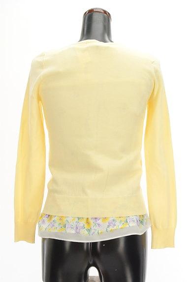 LAISSE PASSE(レッセパッセ)の古着「花柄シフォン+カーディガン(アンサンブル)」大画像2へ