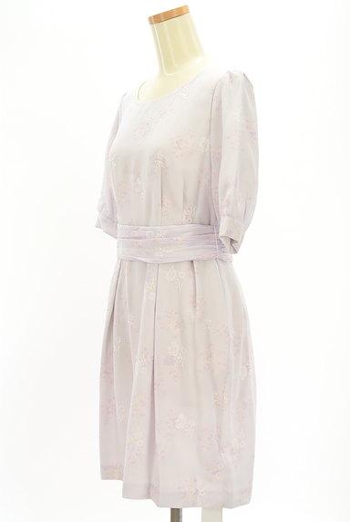 LAISSE PASSE(レッセパッセ)の古着「刺繍MIX美ラインシフォンワンピ(ワンピース・チュニック)」大画像3へ