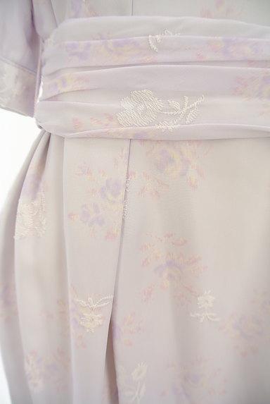 LAISSE PASSE(レッセパッセ)の古着「刺繍MIX美ラインシフォンワンピ(ワンピース・チュニック)」大画像5へ