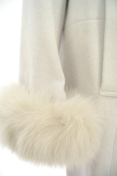 LAISSE PASSE(レッセパッセ)の古着「ファー付ロングウールコート(コート)」大画像5へ