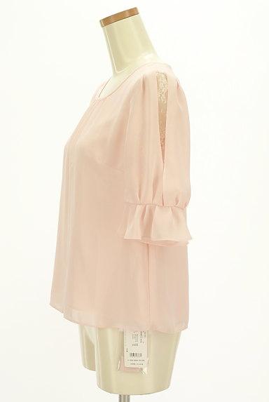 LAISSE PASSE(レッセパッセ)の古着「フリル袖シフォンカットソー(カットソー・プルオーバー)」大画像3へ
