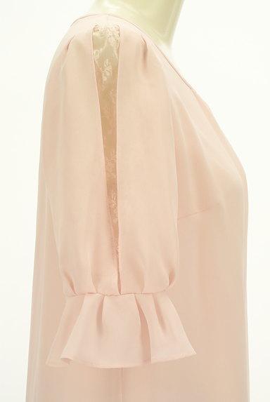 LAISSE PASSE(レッセパッセ)の古着「フリル袖シフォンカットソー(カットソー・プルオーバー)」大画像5へ