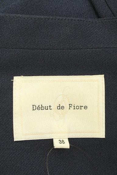 Debut de Fiore by LAISSE PASSE(デビュー・ド・フィオレ)の古着「ドレープデザインジャケット(ジャケット)」大画像6へ