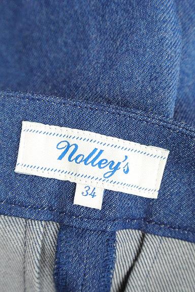 NOLLEY'S(ノーリーズ)の古着「デニム調ワイドパンツ(パンツ)」大画像6へ