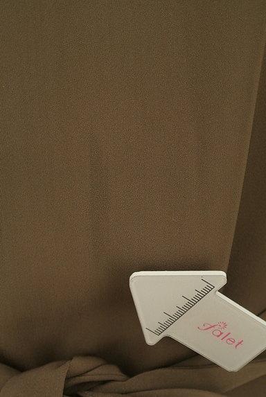 ROSSO(ロッソ)の古着「ウエストリボン膝下丈ワンピース(ワンピース・チュニック)」大画像5へ