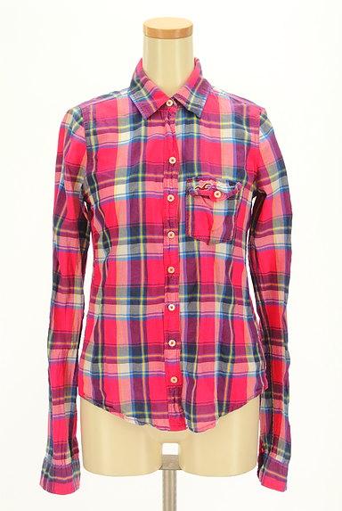 Hollister Co.(ホリスター)の古着「チェック柄シャツ(カジュアルシャツ)」大画像1へ