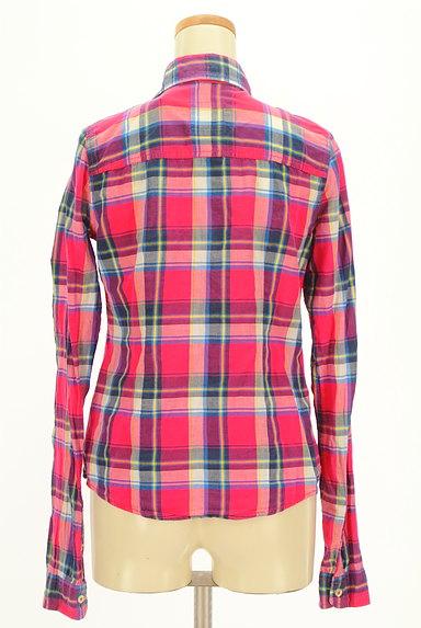 Hollister Co.(ホリスター)の古着「チェック柄シャツ(カジュアルシャツ)」大画像2へ