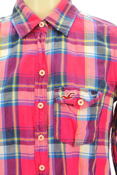 Hollister Co.(ホリスター)の古着「チェック柄シャツ(カジュアルシャツ)」大画像4へ