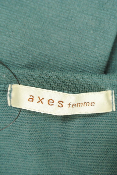 axes femme(アクシーズファム)の古着「レイヤード風刺繍入りカットソー(カットソー・プルオーバー)」大画像6へ