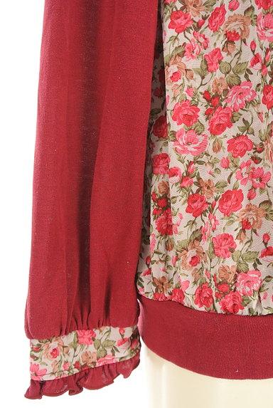 axes femme(アクシーズファム)の古着「花柄シフォン切替タイリボンカットソー(カットソー・プルオーバー)」大画像4へ