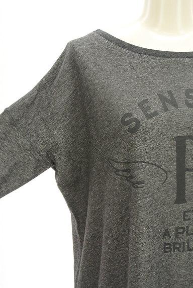 PLST(プラステ)の古着「ロゴスウェットトップス(スウェット・パーカー)」大画像4へ