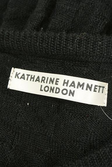 KATHARINE HAMNETT LONDON(キャサリンハムネットロンドン)の古着「凹凸編地クルーネックニット(ニット)」大画像6へ