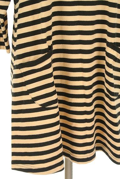marimekko(マリメッコ)の古着「ボーダーフレアワンピース(カットソー・プルオーバー)」大画像5へ