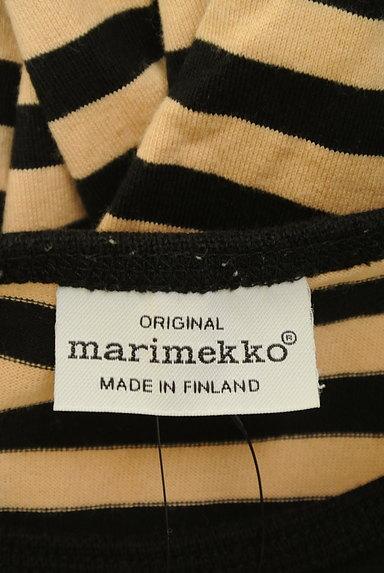 marimekko(マリメッコ)の古着「ボーダーフレアワンピース(カットソー・プルオーバー)」大画像6へ