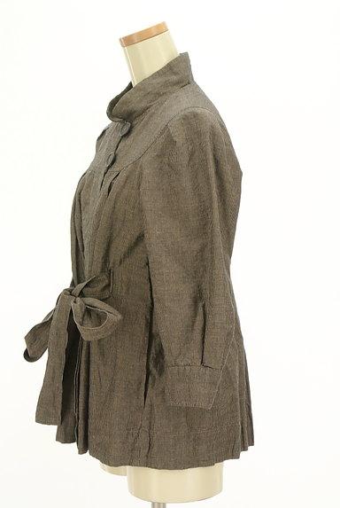 Comptoir des Cotonniers(コントワーデコトニエ)の古着「ウエストリボンハイネックコート(コート)」大画像3へ