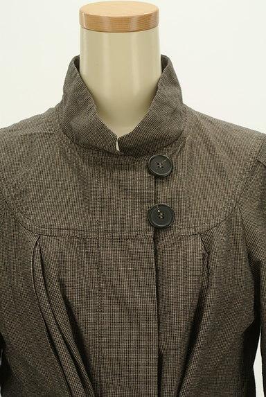 Comptoir des Cotonniers(コントワーデコトニエ)の古着「ウエストリボンハイネックコート(コート)」大画像4へ