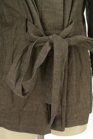 Comptoir des Cotonniers(コントワーデコトニエ)の古着「ウエストリボンハイネックコート(コート)」大画像5へ