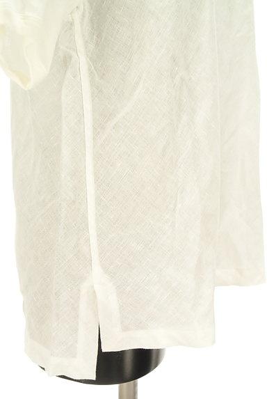 MARGARET HOWELL(マーガレットハウエル)の古着「シアーリネンカットソー(カットソー・プルオーバー)」大画像5へ