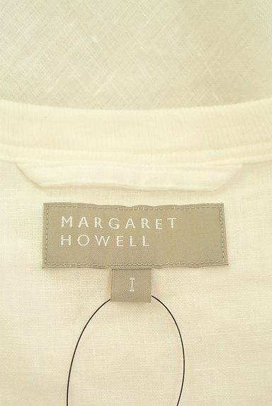 MARGARET HOWELL(マーガレットハウエル)の古着「シアーリネンカットソー(カットソー・プルオーバー)」大画像6へ