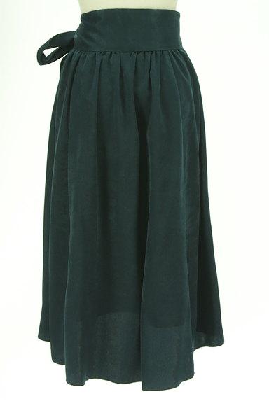 PLST(プラステ)の古着「ウエストリボンフィッシュテールスカート(ロングスカート・マキシスカート)」大画像2へ