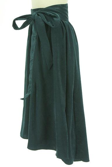 PLST(プラステ)の古着「ウエストリボンフィッシュテールスカート(ロングスカート・マキシスカート)」大画像3へ